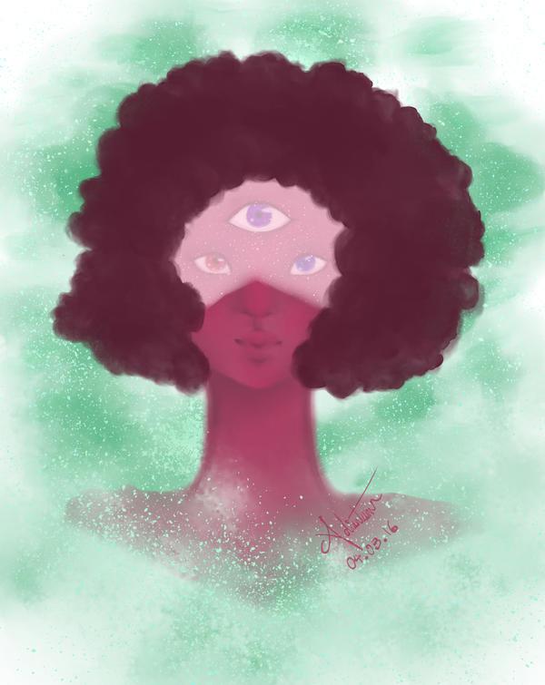 Garnet Portrait by CheekyPockyPro
