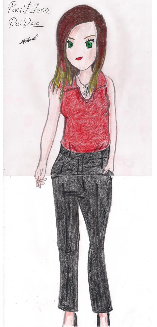 Elena completa By Dave by dibujarTe21