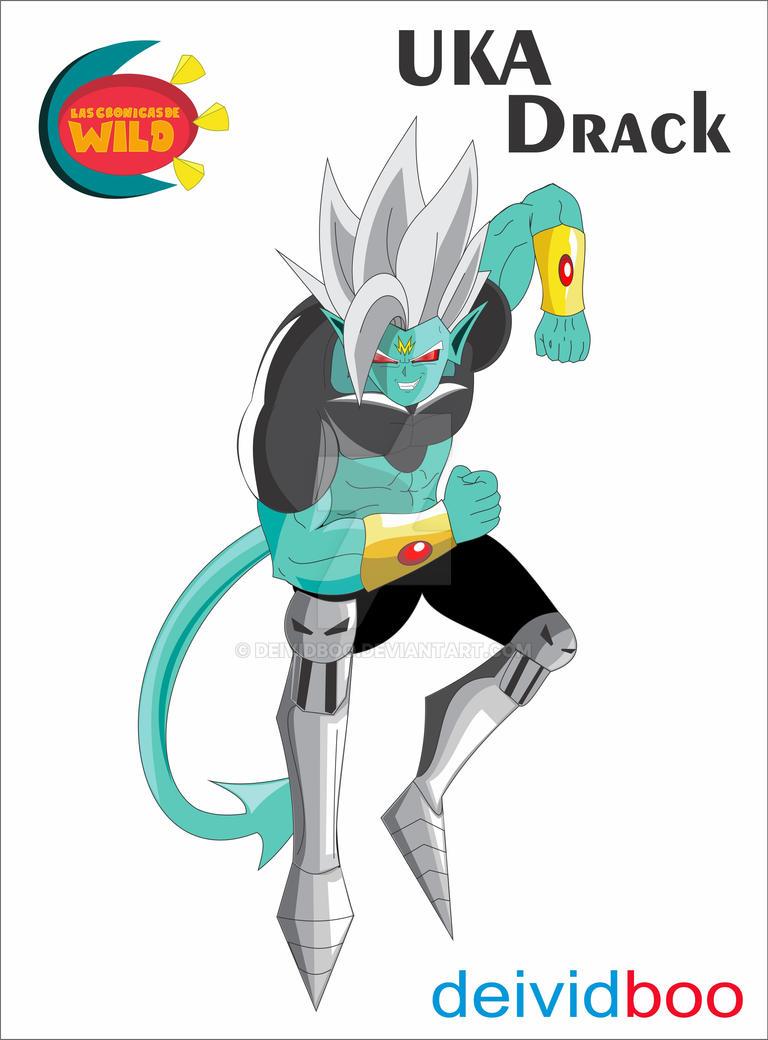 Uka Drack Remaster By deividboo by dibujarTe21