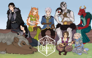 Critical Role by pixelllls