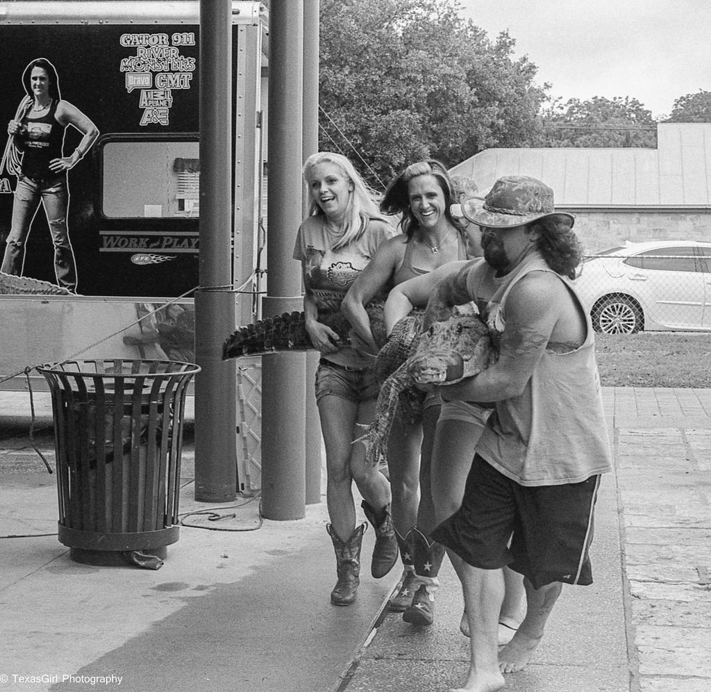 Gator wranglers by TexasGirlPhotography
