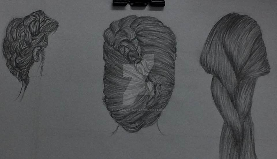 Simple Hair styles by Mo7ammad-Sala7