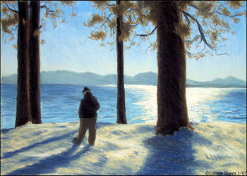 Maura at Lake Tahoe by selderaya