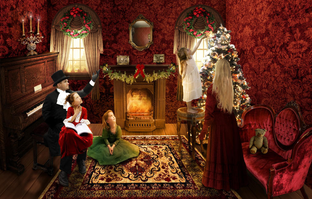 Victorian Christmas By Kimberly M On Deviantart