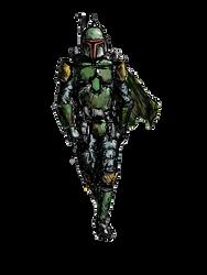 Mandalorian Mercenary by RavenLancer