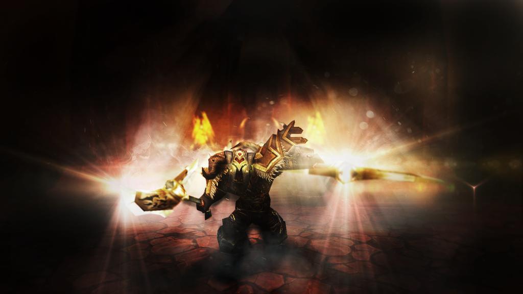 World of Warcraft Warrior - Wallpaper 1920x1080 by ...