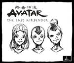 Team Avatar by TheDarkestKnight1939