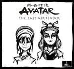 Team Avatar Part 2 by TheDarkestKnight1939