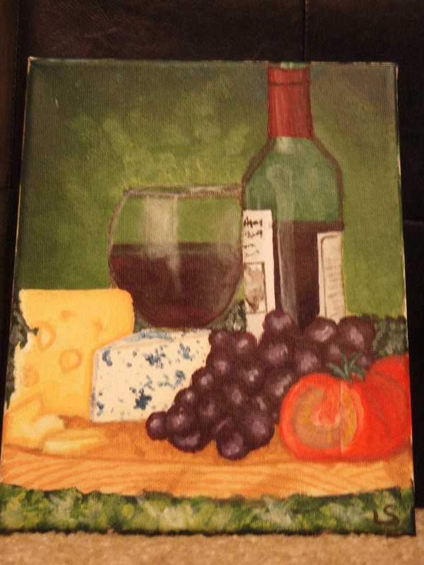 Wine and Cheese by OrangeKiwi on deviantART Wine And Cheese Art