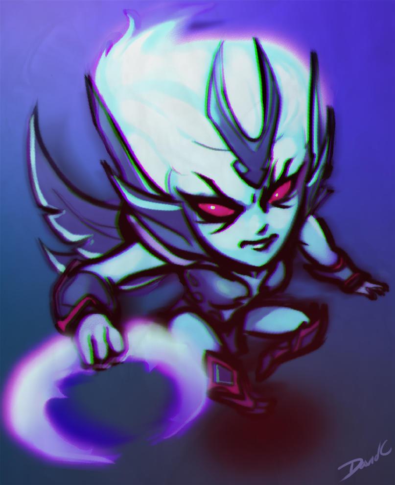 Vengeful Spirit - Dota 2 chibi by Cryotube