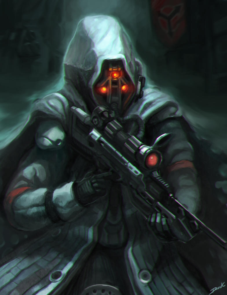 Helghast Sniper (Killzone) by Cryotube