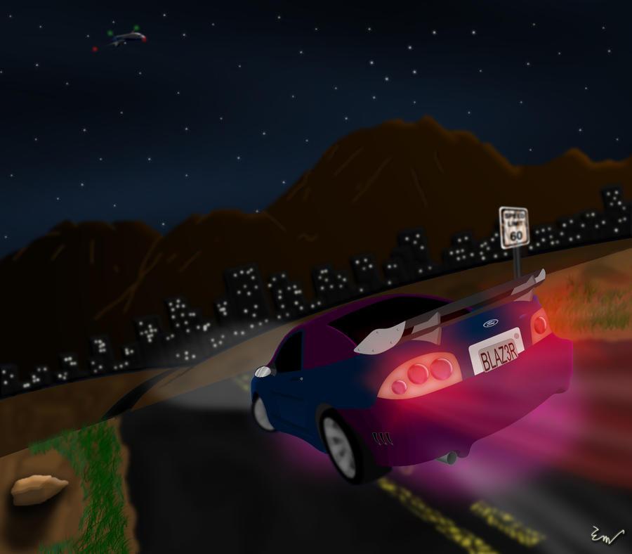 Desert Racing by Strike-Wolf