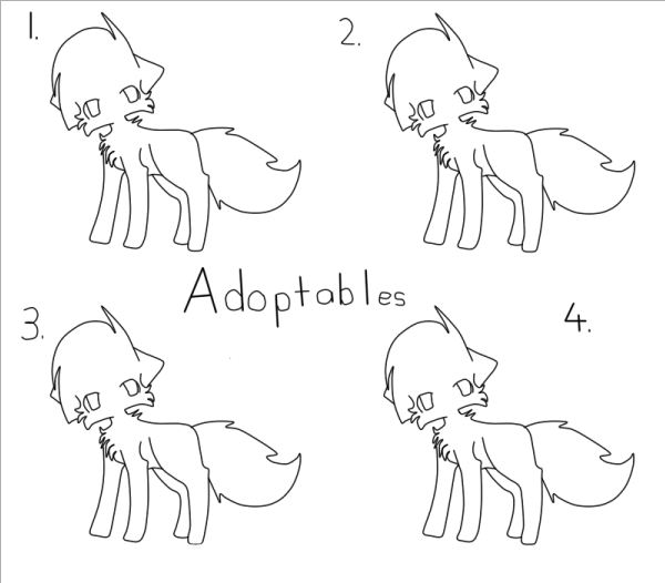 Line Art Using Names : Free to use cat adoptables lineart by beiipaws on deviantart