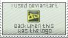 Old Deviantart Logo Stamp