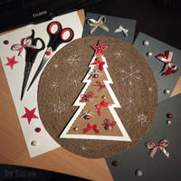 Cristmas panno, step 3 (final one)