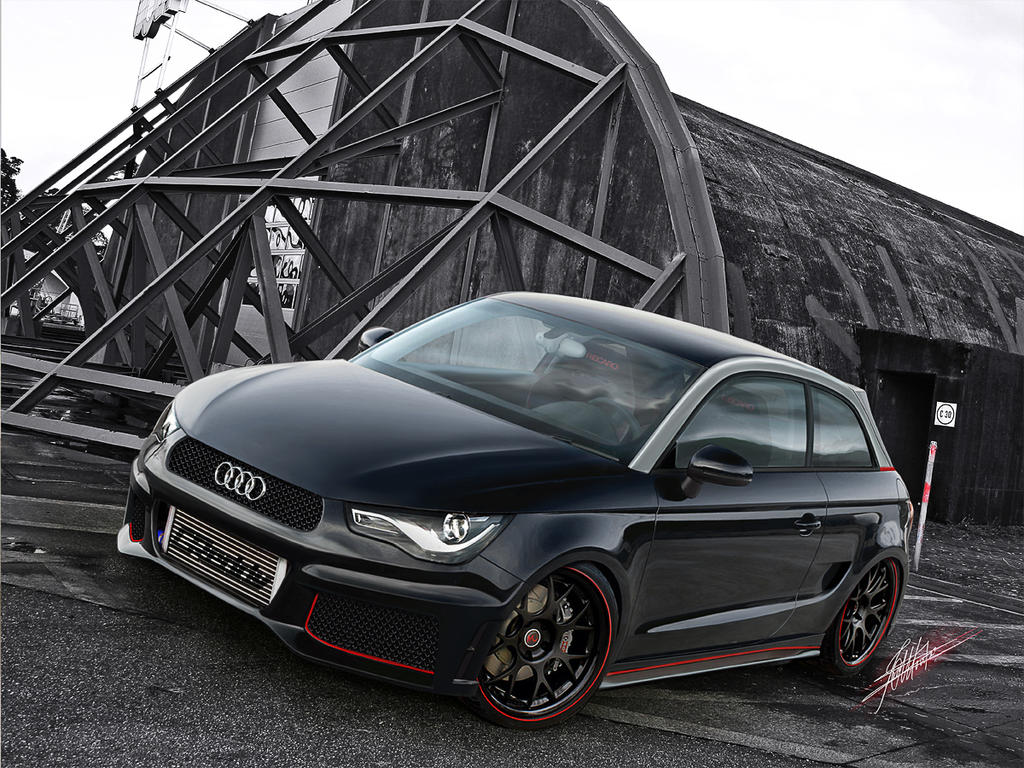 Audi a1 by montch on deviantart for A1 honda civic