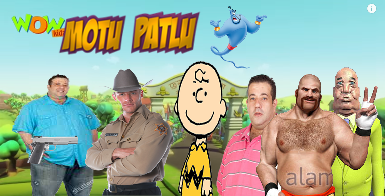 Motu Patlu but with a low budget  by superknucklessmash on