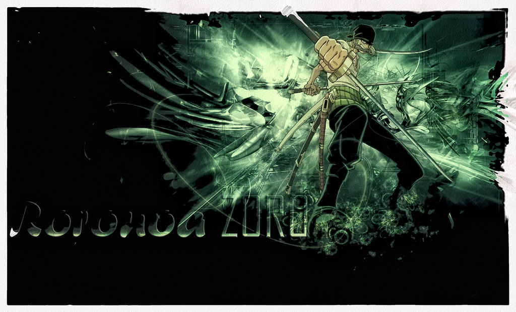 One Piece Roronoa Zoro By Veina2