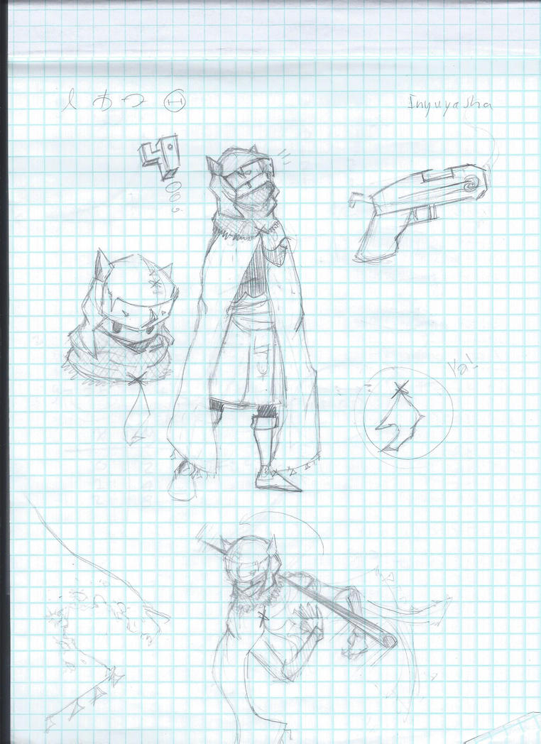 Hyper Light Drifter Sketches by CollideFA