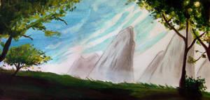 Landscape pandala