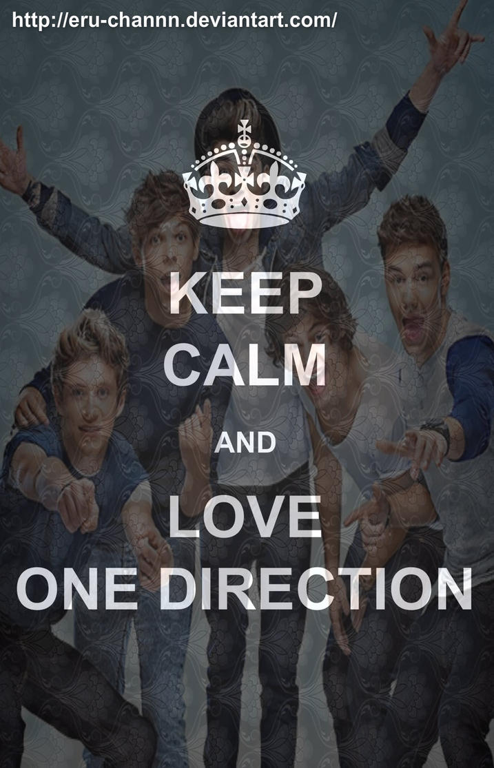 Keep Calm And Love One Direction By Eru Channn