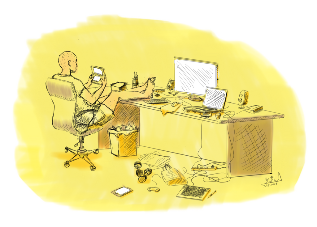 Busy... by YankoPopov