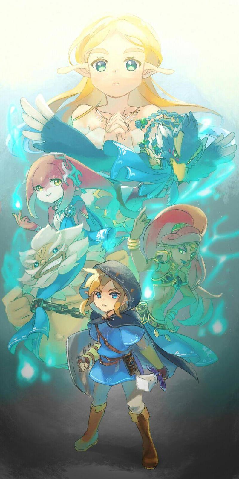 Legend Of Zelda Breath Of The Wild Wallpaper By