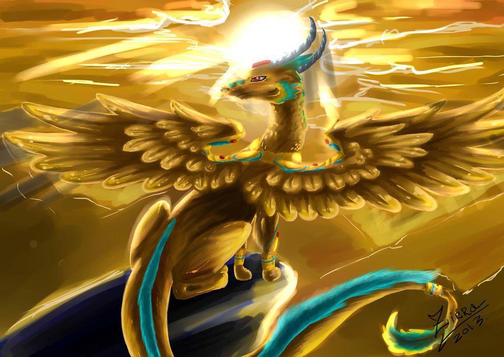 Archangel Dragon by ZirraWolfiex on DeviantArt