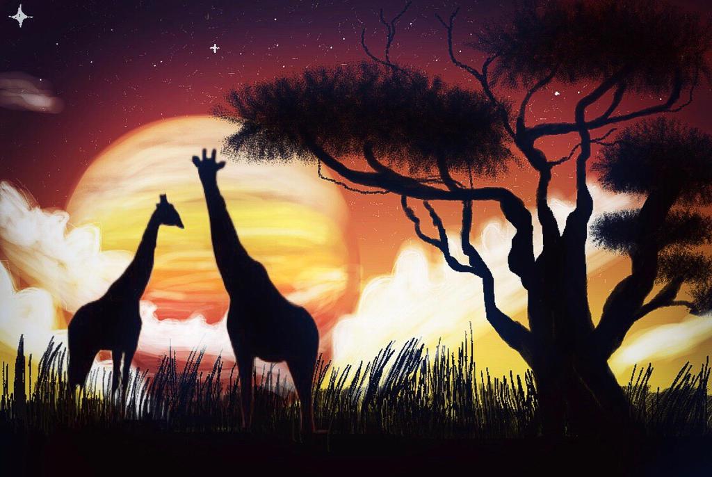 African allurement  by Eman-Afifi