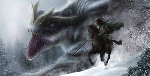 Dragon Hunter by jorgecarrero