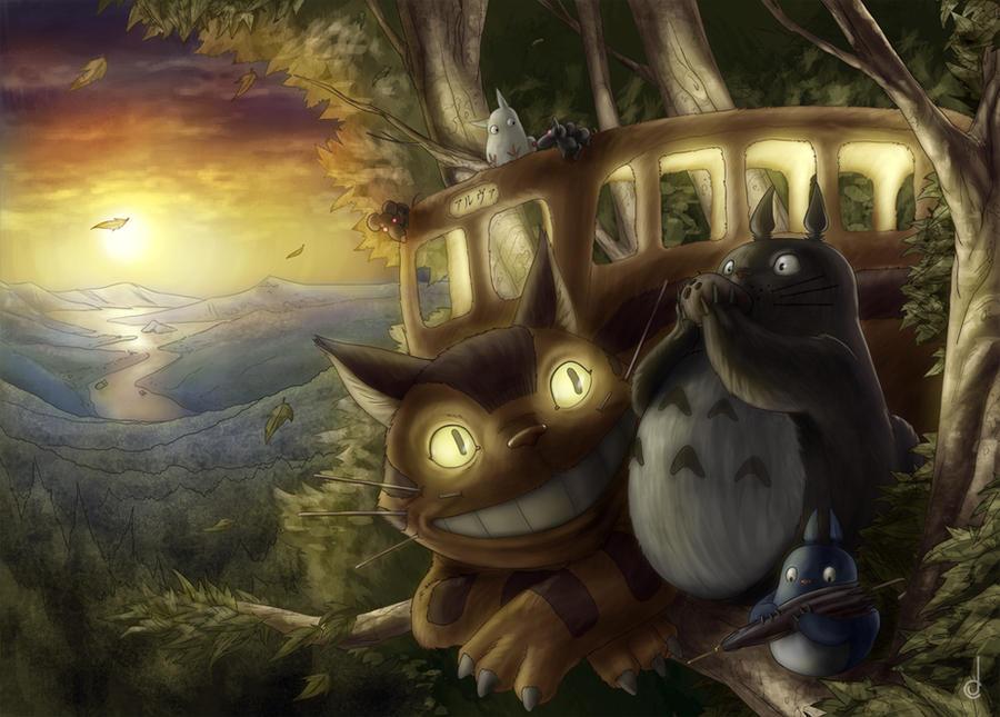 Totoro by jorgecarrero