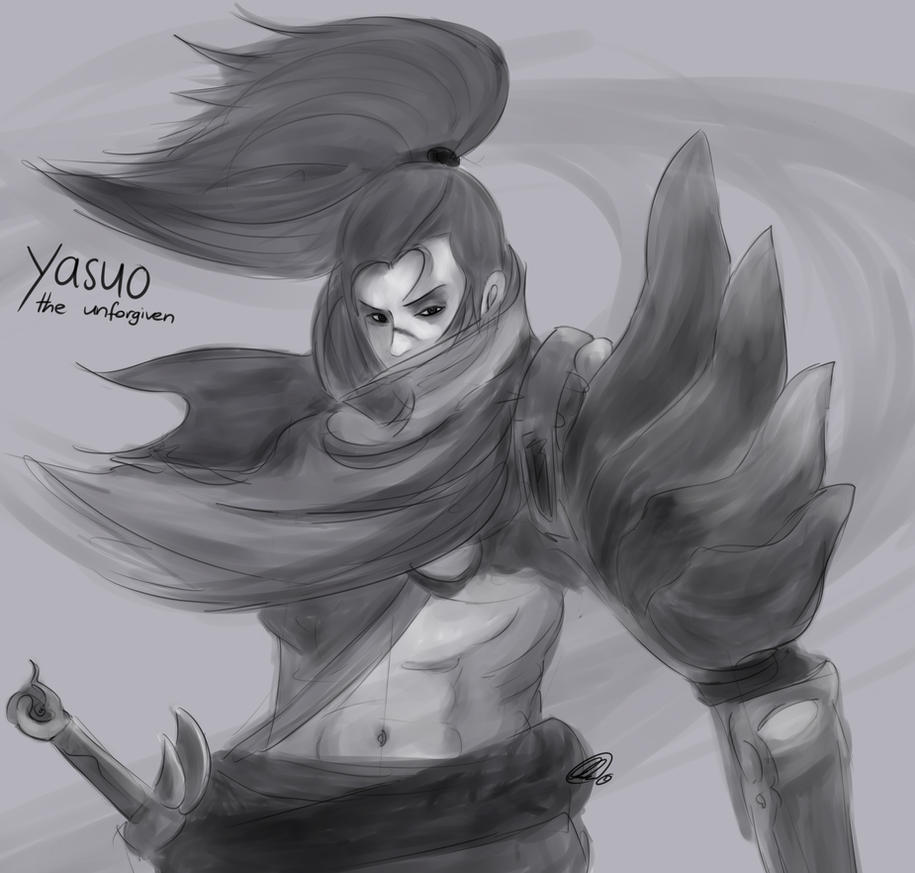 yasuo - the unforgiven by bruised--vein