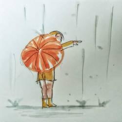 002 - Slice of life - Is it raining ?