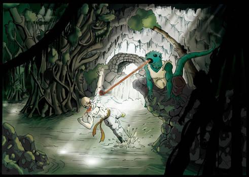 006 - Mana Earth - Swamp (colors by I-juh)