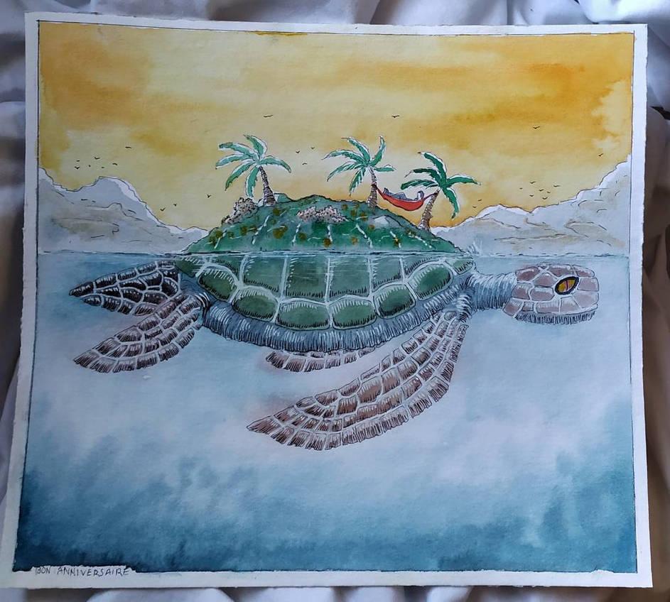 001 - Fantasy - Turtle island