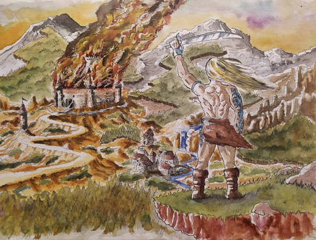002 - Fantasy - Burn castle, burn!