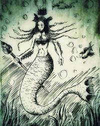 027 - Sketchs - Mermaid