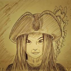 030 - Sketchs - Captain Moon