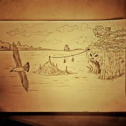 031 - Sketchs - The bay of dispair