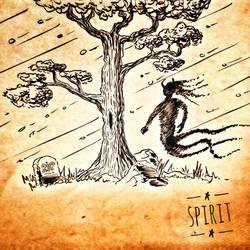 036 - Sketchs - Spirit - Speed painting 15 min