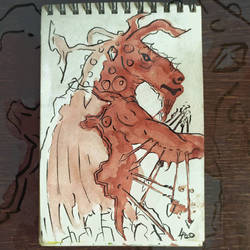 007 - Fantasy - Demon, Speed painting 20 min