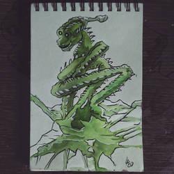008 - Fantasy - Dragon, speed painting 20 min
