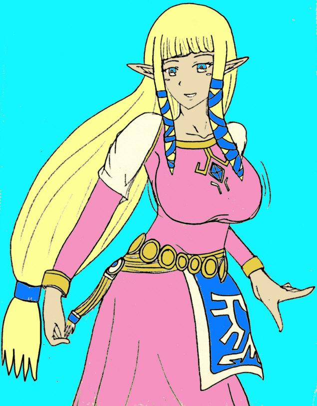 Legend of zelda breast expansion