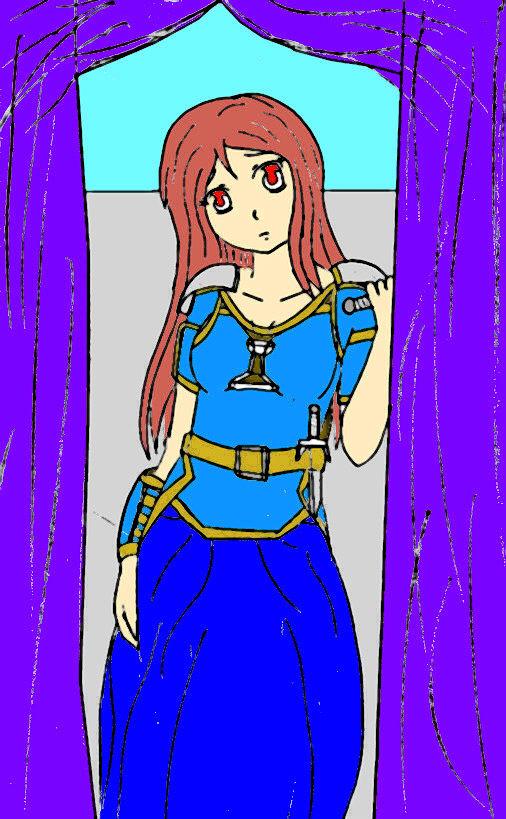 Sarah, for XxsargentwardxX by mistylear