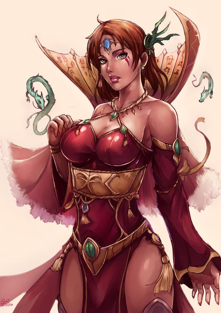Lady Xera, by Kachima by YurixTheWanderer