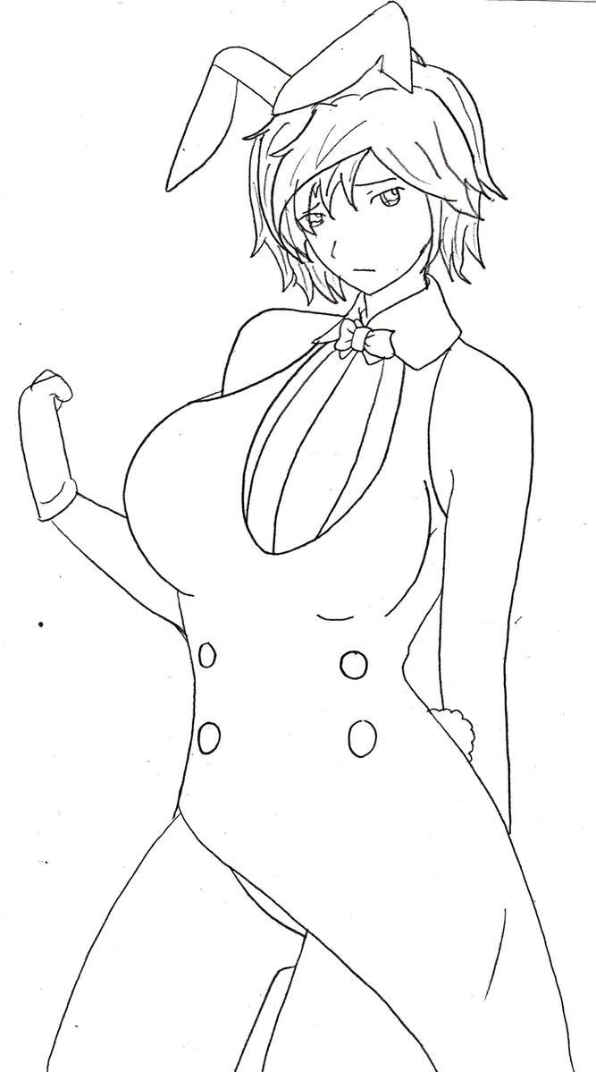 Bunny Girl Jaune Arc, for Yamigalence by YurixTheWanderer