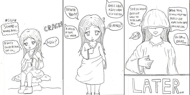 A familiar's feelings (AP, BE, IB) part 1 by YurixTheWanderer