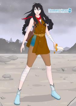 Karyana, Noble Fighter Missangest by YurixTheWanderer