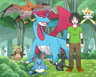 Alex, Pokemon trainer by YurixTheWanderer