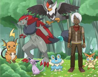 Resham, Pokemon Trainer by YurixTheWanderer